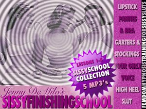 SissyCOLLECTION ONE 300x225 Jenny DeMilos Sissy Finishing School  Volume 1