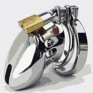 Key holding chastity training