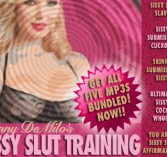 Sissy Slut Training Collection – 5Mp3s